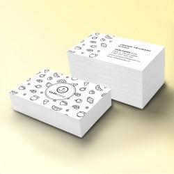 Vizitka papírová